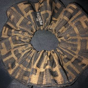 Fendi scrunch's real authentic like new
